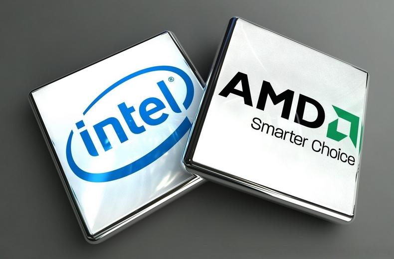 Процессоры АМД Интел
